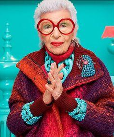 "Iris Apfel Debuts Her ""Peculiar"" New Jewelry Line"