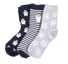 Barbour x The Snowman Layton Sock Gift Set