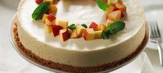 Fluffy Peach Cheesecake recipe