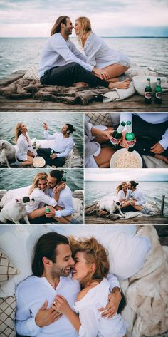 cute + intimate picnic engagement session | photos by Tricia Victoria Photography