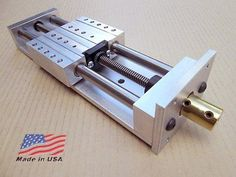 Z-Axis-5-75-034-Fast-Travel-ANTI-BACKLASH-Linear-Slide-CNC-Router-Actuator Cnc Lathe Machine, Machine Tools, Cnc Table, Diy Cnc Router, Cnc Parts, Hobby Electronics, Homemade Tools, Diy Tools, Cnc Projects