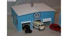 Matchbox car garage DIY