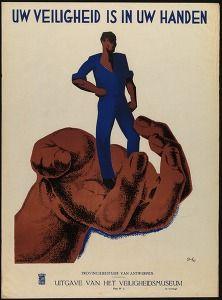 Uw veiligheid is in uw handen (Your safety is in your hands. Politics & propaganda posters Belgium) #Booktower