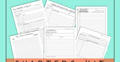 One of a Kind: Now offering a Chapters Kit for Scripture Journaling Templates