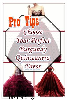 Quinceaneras are not only historically significant, they provide young girls an opportunity to celebrate the heritage of theirs via fashion, beauty, intricate rituals. Burgundy Quinceanera Dresses, Cute Dresses, Formal Dresses, Quince Dresses, Quinceanera Party, Your Perfect, Our Girl, Fashion Show, Tulle