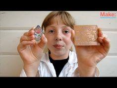 Super Simple Copper Etching -- Sylvia's Mini Maker Show - YouTube