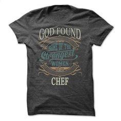 Strongest womans chef T Shirt, Hoodie, Sweatshirts - customized shirts #hoodie #fashion