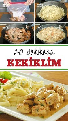 Kekiklim Menu - Chicken World Flavor (with video) - Delicious .- Kekiklim Menu – Chicken World Flavor (with video) – Delicious Recipes, # Menu - Italian Chicken Dishes, Chicken Pasta Recipes, Easy Chicken Parmesan, Breaded Chicken, Pesto Chicken, Pesto Pasta, Dinner For 2, Dinner Menu, Dinner Recipes