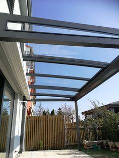 Naše novinka mezi zastřešeními teras. Decks, Pergola, Outdoor Structures, Sky, Metal, Heaven, Front Porches, Outdoor Pergola, Heavens