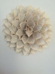 38 how to make paper flower tutorials so pretty amandas handmade paper flowers made from book pages this listing is for a set of 4 mightylinksfo