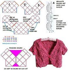 Crochet bolero ll