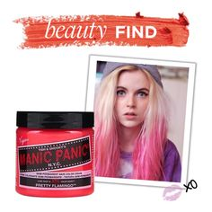 """""""Beauty Find: Manic Panic Hair Color"""" by polyvore-editorial ❤ liked on Polyvore featuring beauty and beautyfind"""