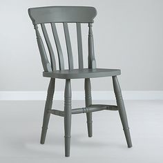 John Lewis Cecile Dining Chair. Cheaper to do this yourself with second hand chair; this is just the expsensive version of an upcycle. Might be fun to paint mismatched chairs the same colour to create a set.