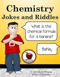 (FREE) What do you do with a dead chemist? You barium! What did one atom say to the other? I have my ion you! What element derives from a Norse god? Thorium Everybody loves a good joke. Share these silly chemistry jokes with your students and other teachers to have a good laugh! #kellysclassroom