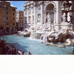Roma Trevvi fountain
