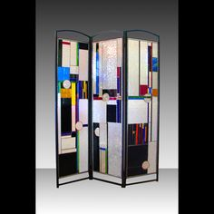 Stained Glass Room Divider - SOLD