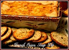 French Onion Soup Dip! - Sweet Tea and Cornbread