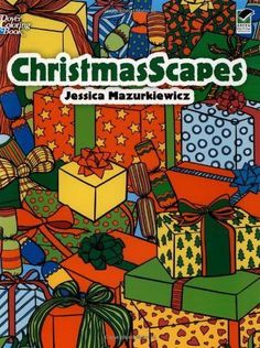 ChristmasScapes (Dover Holiday Coloring Book)