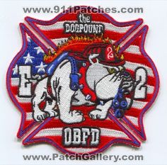 Olive Branch Fire Department Engine 2 Patch Mississippi MS
