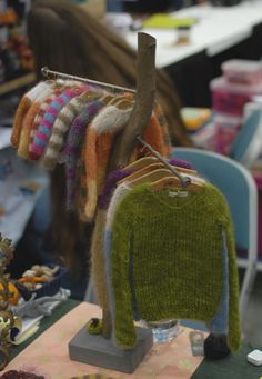 Dollhouses: Keep out of reach of children. — poisonbleu: Sweater tree at Nekocon I'm slowly...