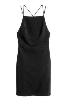 Robe sans manches - Noir - FEMME | H&M FR