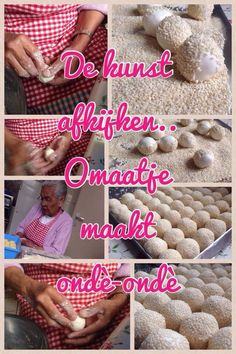 De kunst van het afkijken ..... Facebook pagina ter ere van oma/oewa Au Noija die al jaren op traditionele wijze Molukse gerechten maakt Tante/Oma Au Noija-Laisina