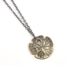 Sand Dollar Necklace..... love it