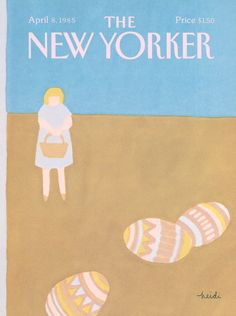 The New Yorker - Monday, April 8, 1985 - Issue # 3138 - Vol. 61 - N° 7 - Cover by : Heidi Gonnel