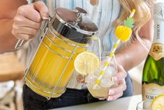 17 Surprising Ways to Use Your French Press That Don't Involve Coffee - The Krazy Coupon Lady Batch Cocktail Recipe, First We Feast, French Coffee, Fruit Infused Water, Coupon Lady, Infused Oils, Ripe Avocado, French Press, Beverages