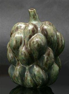Axel Salto, 1889-1961. Vase, sprouting style