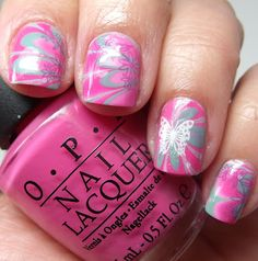 stamping AND marbling!
