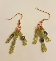 Hey, I found this really awesome Etsy listing at https://www.etsy.com/listing/293948913/peridot-earrings