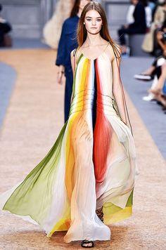 Trend Report: Rainbow Stripes via @WhoWhatWear