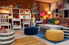 Find inspiration to create the most luxurious playroom for kids with the latest interior design trends. See more at circu.net