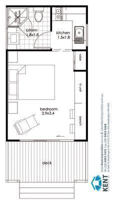 Image Result For Single Garage Conversion To Bedroom Home W Bedroom Conversion Gara Garage Conversion Granny Flat Studio Apartment Floor Plans Garage Bedroom