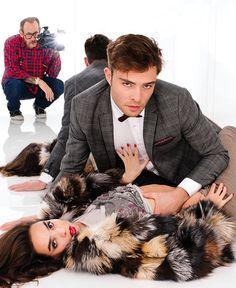 #Fashion : Edward Westwick de la série Gossip Girl, nouvelle égérie de la marque Philipp Plein