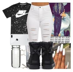 """""""14."""" by theykraveekayy ❤ liked on Polyvore featuring Chloé, Sagaform, Bobbi Brown Cosmetics, NIKE and UGG"""