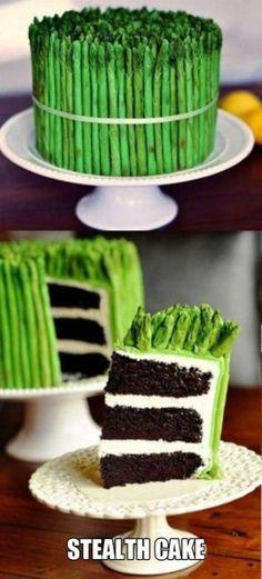 I love asparagus both cake and vegetable
