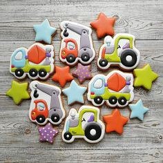 Baby Boy Cookies, Cookies For Kids, Gingerbread Icing, Royal Icing Cookies, Childrens Party, Recipe Of The Day, Ale, Birthday, Creative
