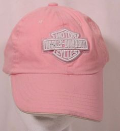 262388f8c70 Harley Davidson Pink Maui Hawaii Ball Cap 100% Cotton Adjustable Hook    Loop  HarleyDavidson  BaseballCap
