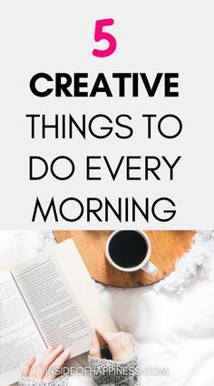 Here are 5 creative things to do in the morning to start the day in a positive manner. 5 healthy morning habits that will boost your creativity. Morning activities for a better day. Creativity booster morning habits to try. #morningroutine #morninghabits #staycreative Healthy Morning Routine, Morning Habits, Morning Routines, Morning Activities, Productive Day, Better Day, Time Management Tips, How To Stay Motivated, Self Development