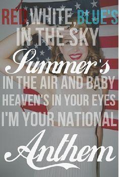 National Anthem - Lana del Rey lyrics