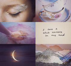 Harry Potter aesthetic ❤❤ Character: Luna Lovegood ❤❤ I have a whole universe in my mind...