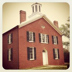 Brentsville Courthouse, Prince William County, Virginia -- the second county seat