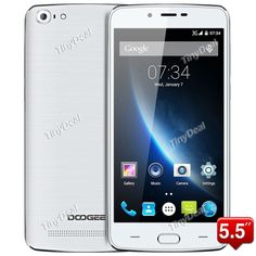 """Presell DOOGEE Y200 5.5\"""" HD IPS MTK6735M 64-bit Quad-core Android 5.1 4G Phone 2GB RAM 32GB ROM 13MP SONY CAM TOUCH ID P07-Y200 http://www.tinydeal.com/doogee-y200-55-ips-mtk6735m-64-bit-quad-core-android-51-4g-phone-p-157256.html"""