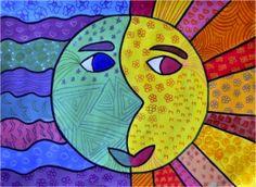 Warm koud contrast het gebruik van warme kleuren naast koude kleuren geeft een contrast warme - Warme en koude kleuren in verf ...