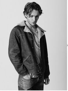 Channeling James Dean or auditioning for Calvin Klein ad?