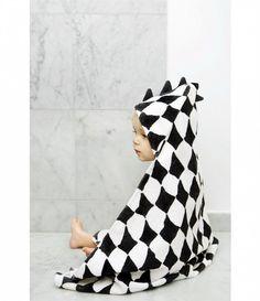 Ręcznik z kapturem w romby marki Elodie Details Baby Boy Fashion, Toddler Fashion, Kids Fashion, Little Babies, Baby Kids, Elodie Details, Baby Towel, New Baby Products, Hoods