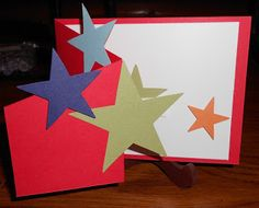 Fun tri-fold Birthday card