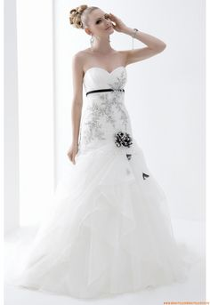 Tüll  Günstige Brautkleider